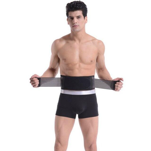 Men Body Shaper Belly In Girdle Sweat Sauna Waist Cinchers Magnet Belt