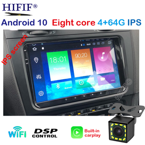 Image 1 - PX5 IPS DSP 4G אנדרואיד 10 2 דין רכב GPS נגן לאלטאה סיאט טולדו פולקסווגן גולף 5/6 פולו פאסאט B6 CC Tiguan טוראן רדיו לא DVD