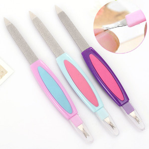 Nail Files Block Buffer Cuticle Pusher Trimmer Remover Manicure Pedicure Fake Nail Art Cutter Nipper Professional Beauty Tools