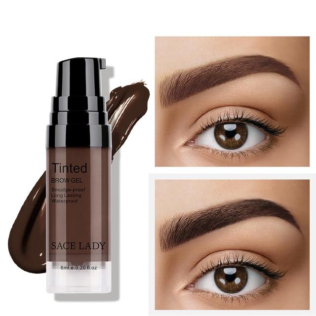 Peel off Eyebrow Enhancer - Dye Cream Eyebrow Tint and Tattoo Gel 2