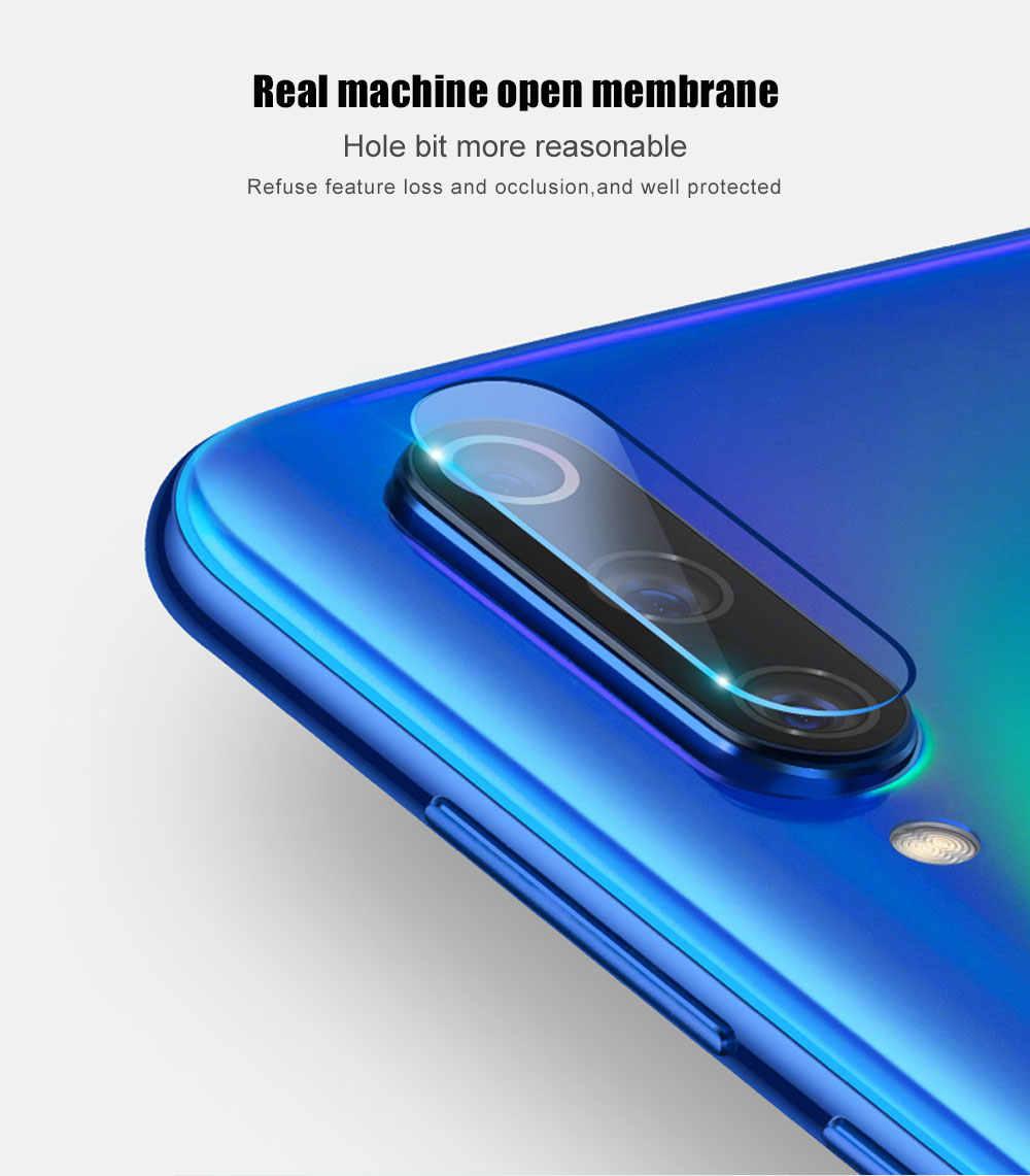 2 In 1 กระจกนิรภัยสำหรับ Samsung Galaxy A50 A40 A30 A20 A10 A70 70 50 30 20 10 Screen Protector เลนส์กล้องฟิล์ม