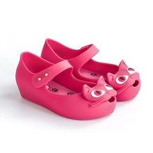 Mini Melissa Kids Cartoon Sandals 2019 New Cat Girls Shoes