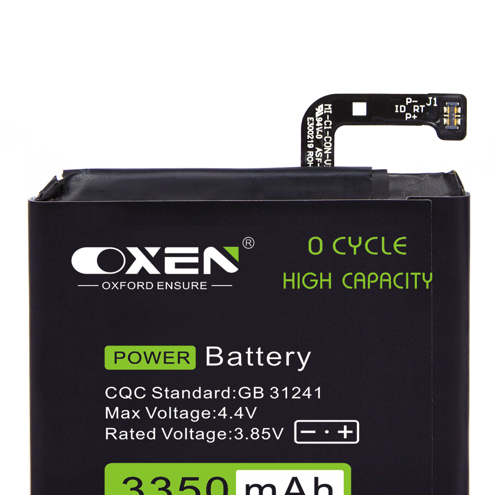 OXEN BM39 Battery 3350mAh for Xiaomi Mi 6 M6 Mi6 Phone Replacement Batteries High Capacity Lithium Bateria Tools in Mobile Phone Batteries from Cellphones Telecommunications