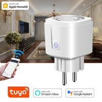 Wireless WiFi Smart Steckdose Stecker Schalter Monitor Outlet Timer Schalter Siri Stimme Control AUF/OFF Apple Homekit IOS/tuya Smart Leben