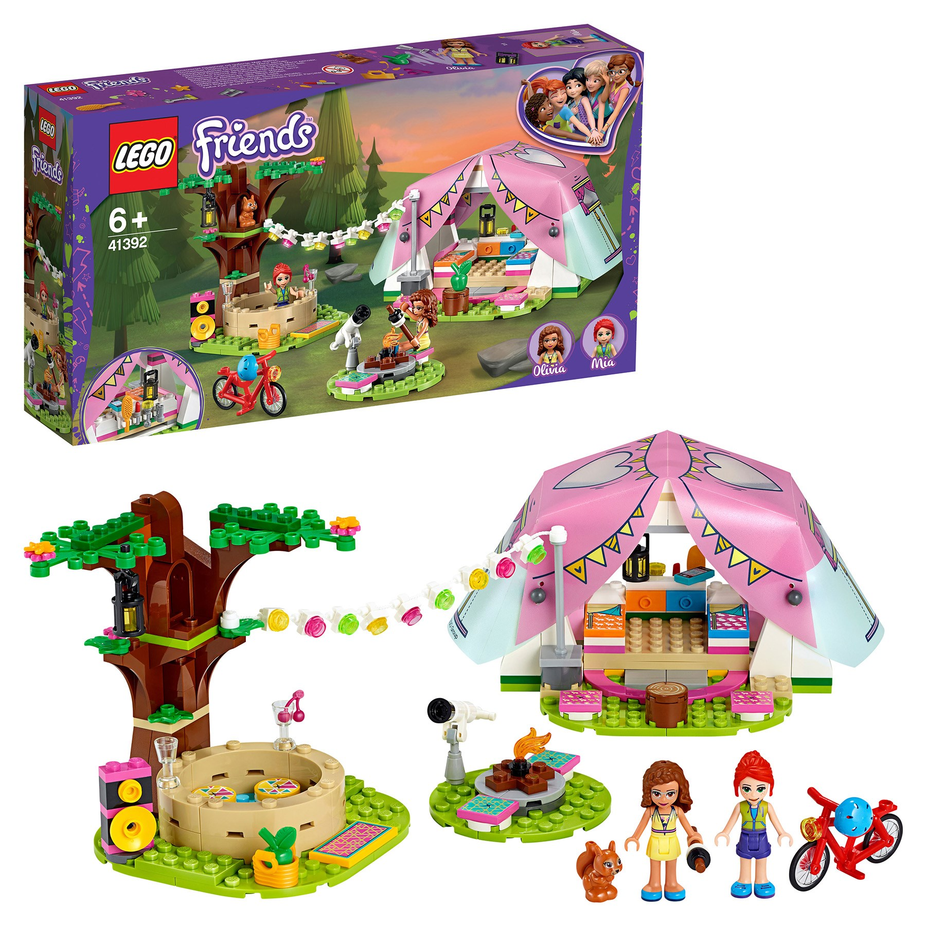 Designer Lego Friends 41392 Luxury Camping