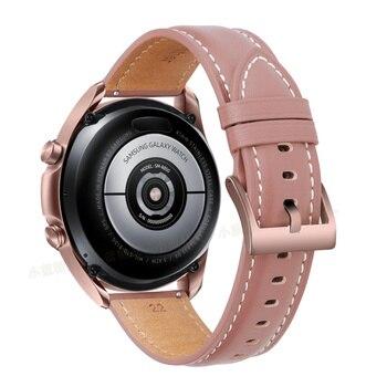 Ремешок для часов кожаный, 20-22 мм 3
