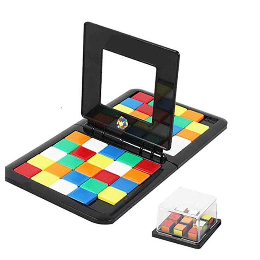 Children's Puzzle Game Jigsaw Puzzle Intellectual Color Battle Parent-child Interactive Sports Game Toys
