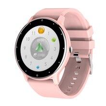 חכם שעון אישה 1.28 אינץ מגע מלא נשים של שעון קצב לב צג לחץ דם חמצן כושר צמיד VS DT88 SG2 SG3