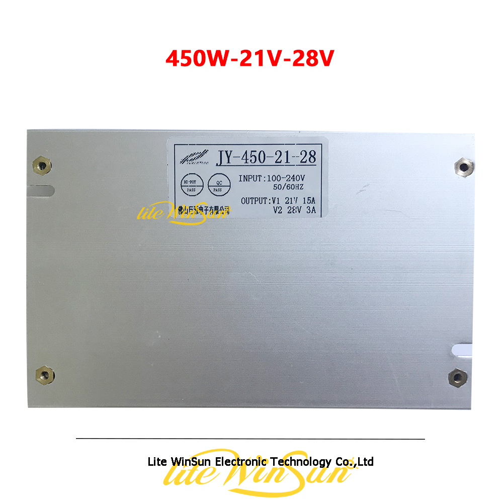 450W-21V-28V Power Supply Board For LED Beam Wash Moving Head Stage Lighting