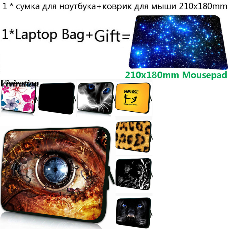 Tablet Tasche 7 10 12 13 14 17 Neopren <font><b>Funda</b></font> Portatil 15 15,4 15,6 Laptop Tasche + Mousepad Für Chuwi xiao mi mi <font><b>Notebook</b></font> <font><b>Pro</b></font> 15,6 Fall image