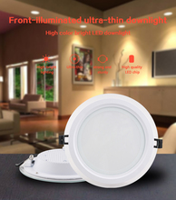 GL- LED Light Dimmable 6W 9W 12W 18W Downlight Waterproof SMD 2835 Warm White spot light  Round Recessed Lamp kitchen