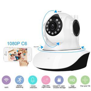 Image 1 - Cámara IP inalámbrica de seguridad para el hogar, cámara de vigilancia, Wifi, visión nocturna, CCTV
