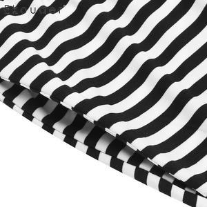 Image 5 - Ekouaer Women Plus Size Pajama Sets Summer Nightwear Short Sleeve Tops Striped Capri Pants Pajama Suit Female Sleepwear