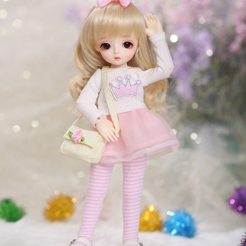 LCC Miu 1/6 BJD SD Doll Fashion Mini Toys For Girls Birthday Xmas Best Gifts