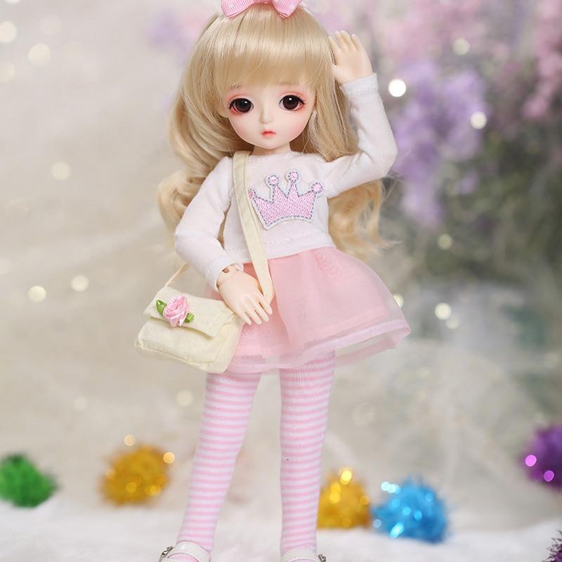 LCC Miu 1/6 BJD SD Doll Fashion Mini Toys For Girls Birthday Xmas Best Gifts