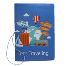 Fashion Travel Passport ID Card Cover Holder Case Protector Organizer