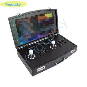 Image 5 - NEW Original Pandora Box DX 3000 in 1 mini arcade joystick  support 2 players computer projectors fba mame ps1 have 3D games