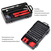 110 in1 Screwdriver Set Multi-function Precision Screwdriver Bits Torx PC Mobile Phone Device Repair Hand Tools