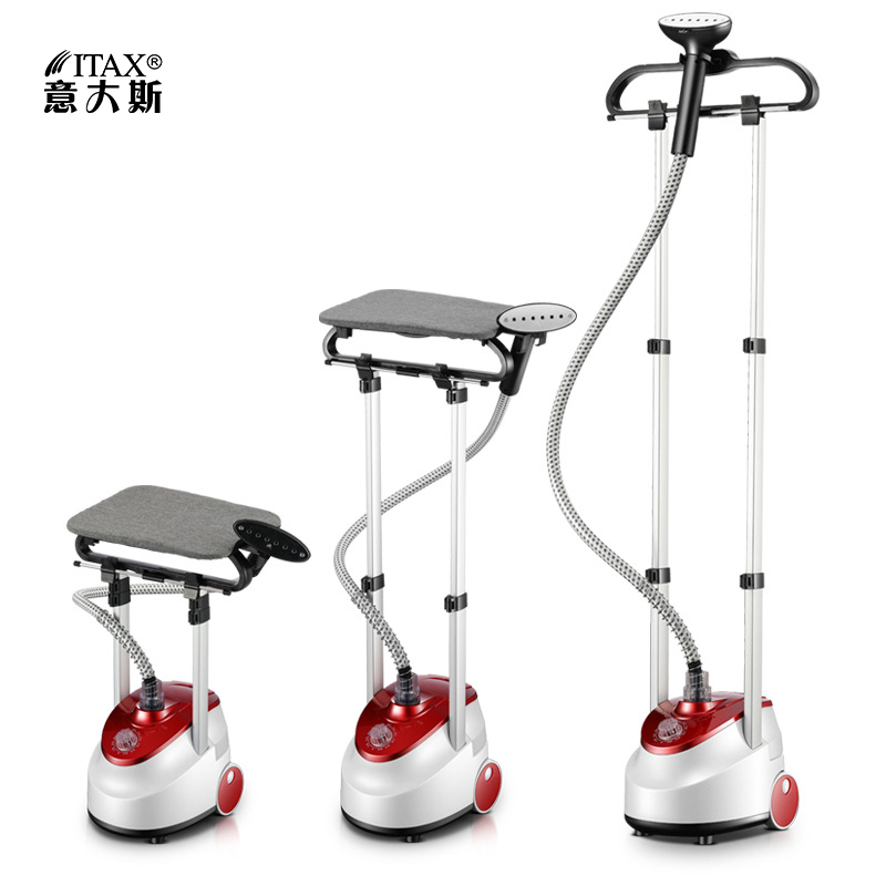 Household Double Pole Steam Ironing Machine Mini Portable steamer Brush Iron hanging hot machine with Ironing Board Cover GS10 in Garment Steamers from Home Appliances