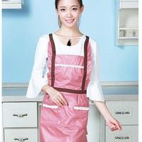 Nowy styl domu kuchnia PV księżniczka fartuch wodoodporny fartuch przeciwporostowy koreański styl Hengyuan fartuch bezpieczeństwa pracy w Zarękawki od Dom i ogród na