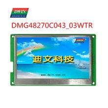 DWIN – écran tactile intelligent TFT LCD HMI, 4.3 pouces, 480x272 px