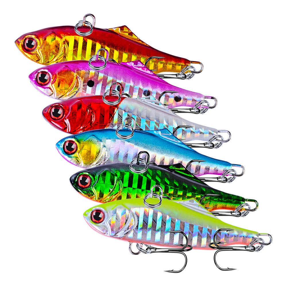 VIB Fishing Lure 7.5 ซม.น้ำหนัก 23g Bass Fishing Tackle เหยื่อน้ำเค็มจมดินสอ Articulos De Pesca Isca ประดิษฐ์ wobbler
