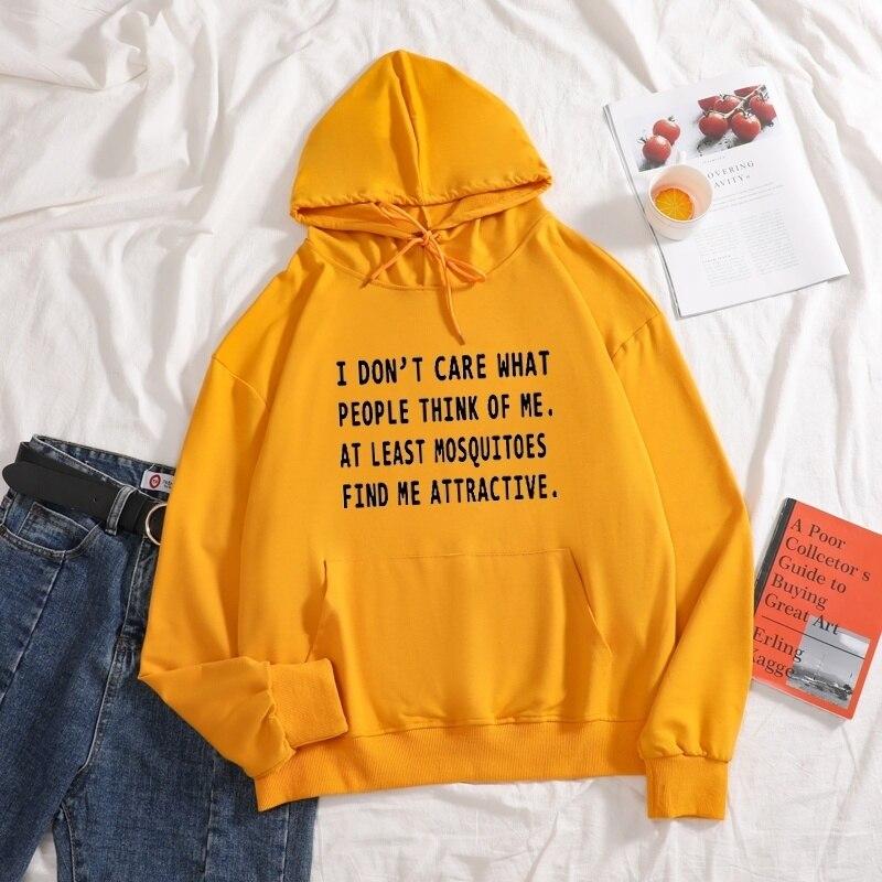 Купить толстовки с длинными рукавами и надписью «i don't care what