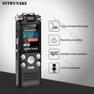 Voice recorder recording activated audio sound digital professional Dictaphone USB PCM 1536Kbps