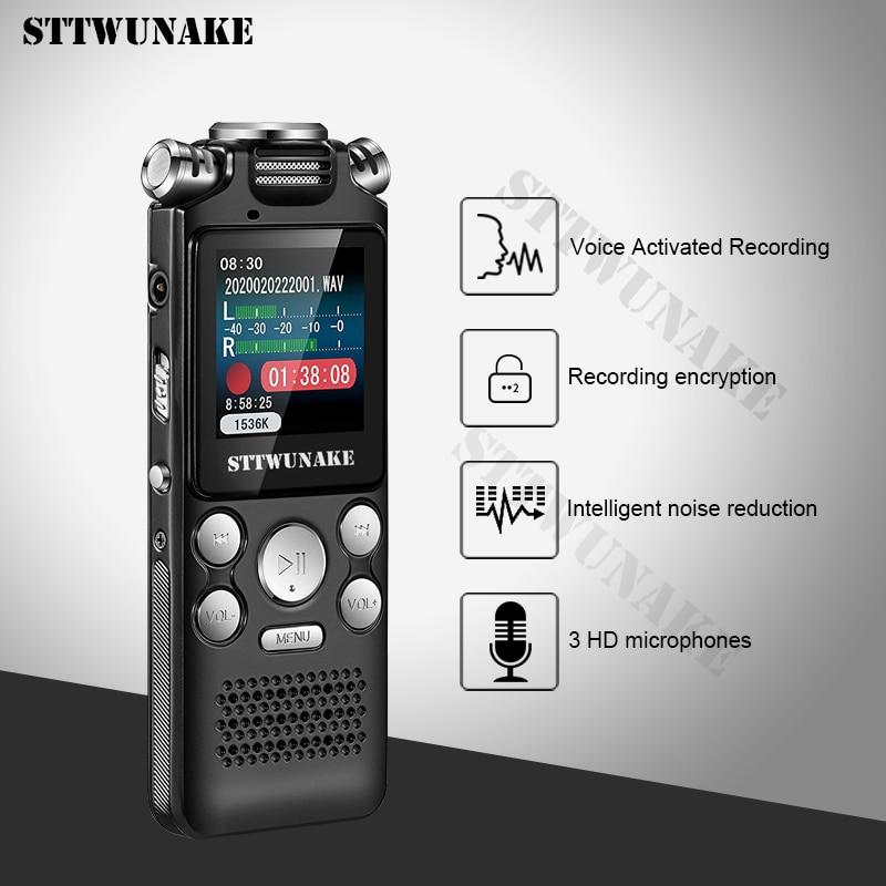 Voice recorder recording activated audio sound digital professional Dictaphone USB PCM 1536Kbps