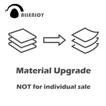 Pacote de atualização material econ ou pro poliéster pano de fundo para impermeável ao ar livre durável mantendo não para venda individual