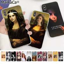 MaiYaCa Sexy singer model Lana Del Rey Mona Lisa DIY Beautiful Phone Case for Apple iphone 11 pro 8 7 66S Plus X XS MAX 5S SE XR(China)
