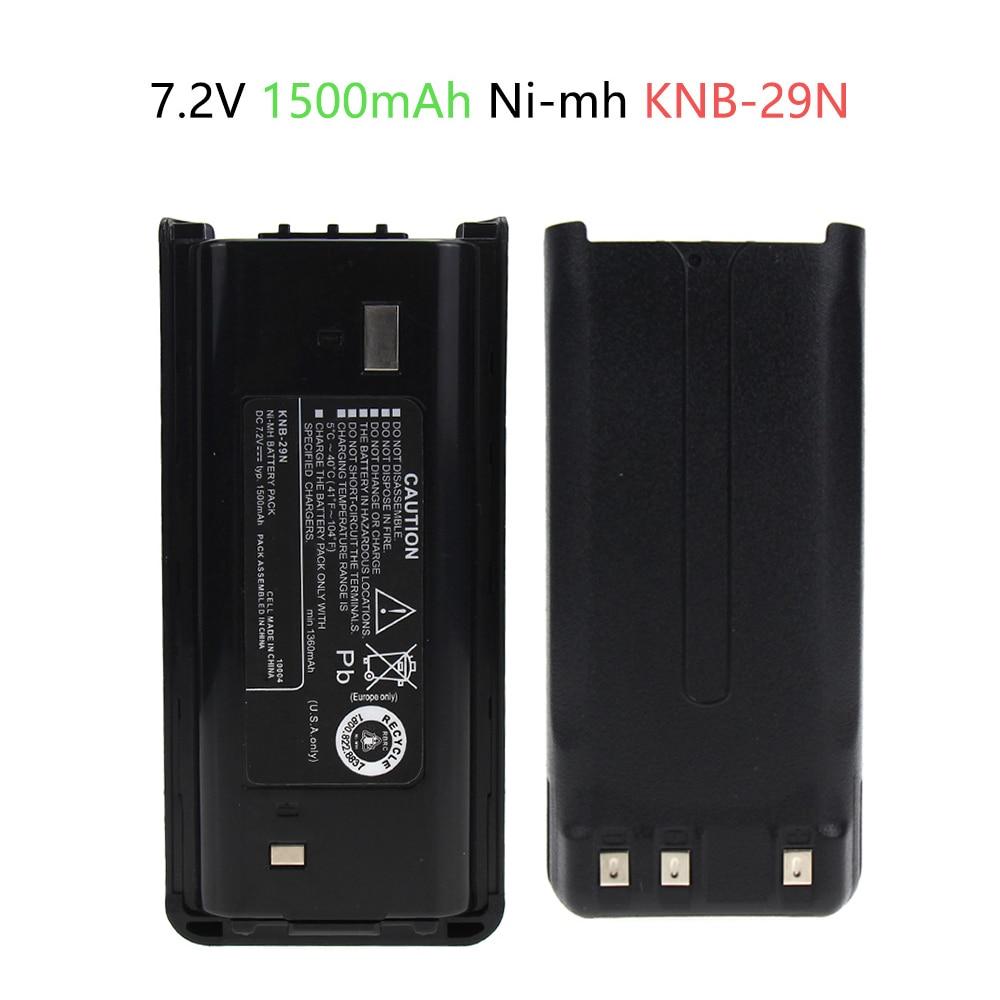 7.2V 1500mAh Ni-Mh Battery For Kenwood KNB-29N  ProTalk TK2200 TK3200 TK-2217 TK-3207 TK-2217 Radio