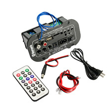 Digital Amplifier Board Bluetooth 30W Audio Amplifier With USB DAC FM Radio TF Player Subwoofer Amplificador For Car Speaker DIY