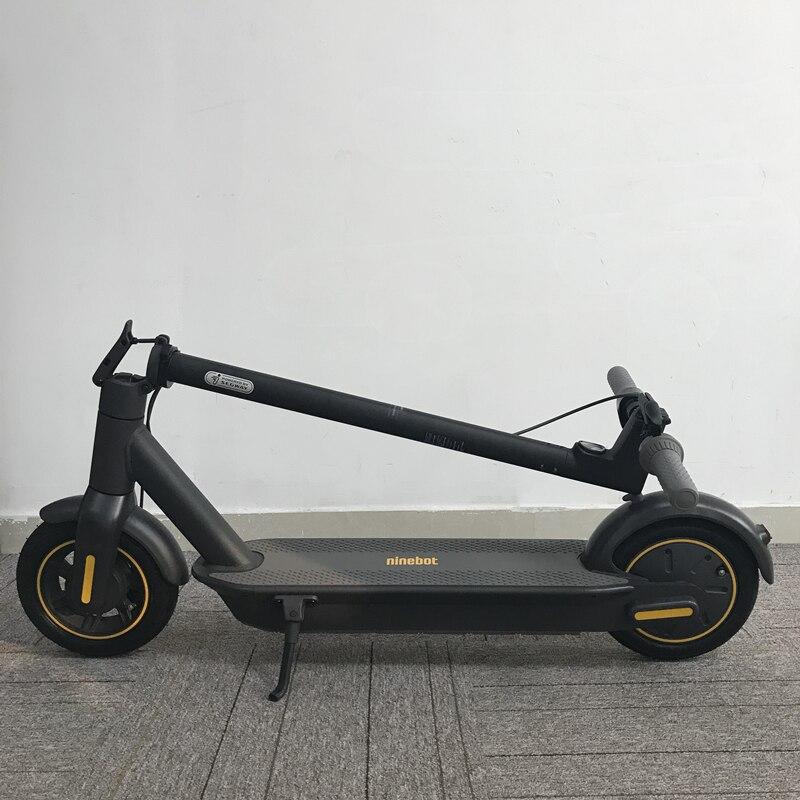 2019 Original Ninebot MAX G30 KickScooter 10 pouces pliable 65km kilométrage maximum Scooter électrique intelligent double planche à roulettes de frein avec APP