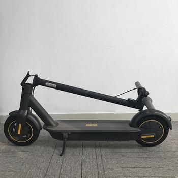 2020 Original Ninebot MAX G30 KickScooter 10 pulgadas plegable 65km kilometraje máximo Scooter eléctrico inteligente freno doble Skateboard con aplicación