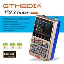 Gtmedia – détecteur de compteur v8, localisateur de Satellite, Satlink, écran LCD pour plat Satellite, télévision, amplificateur de Signal de télévision numérique LNB