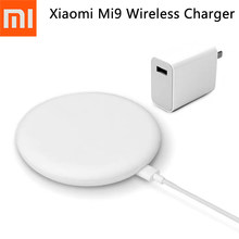 Original Xiaomi Mi 9 Qi Wireless Charger 20W Max For Mi 9 (20W) MIX 2S / 3 (10W) Qi EPP Compatible Cellphone (5W) Multiple Safe(China)