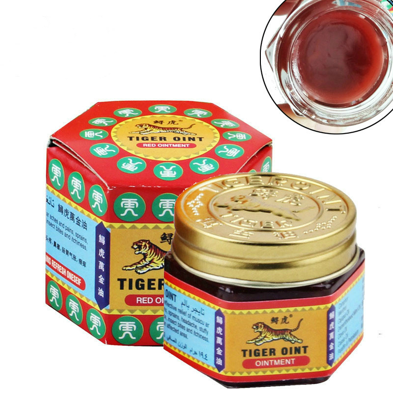 Balm Ointment Plaster Itch Chinese Medicine Thailand Muscle-Pain-Relief Red Tiger Painkiller