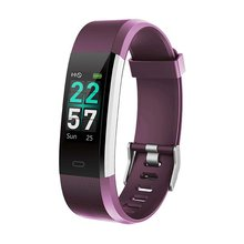 Id115 Color Screen Smart Bracelet Heart Rate Bt Sports Information Call Reminder Health