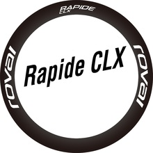 Cycling-Decals Two-Wheel-Sticker Bicycle Road-Bike ROVAL for Rapide CLX Disc-Brake Only