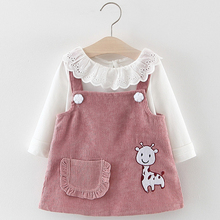 Baby Clothing Sets Flower Dress Party 2pcs