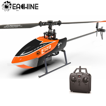 Eachine E129 2.4G 4CH 6 Axis Gyro Altitude Hold Flybarless RC Helicopter RTF Optional Mode Right and Left Hand Upgrade E119 Toys