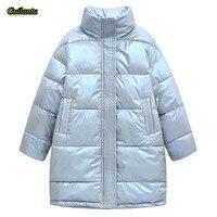 Блестящая куртка с воротником-стойкой Цена 1999 руб. ($25.03) | -79 руб. купон(ы) Посмотреть