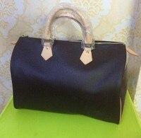 2019 new fashion good quality women speedy handbag Pillow bag 25/30/35cm with starp FREE SHIPPING