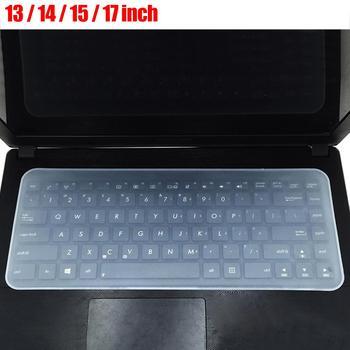 Cubierta protectora de teclado Universal de silicona impermeable a prueba de polvo para portátil