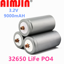 2021 Original Battery 3.2V 32650 Battery 9000mah LiFePO4 Rechargeable Lithium Cell for Electric Bike Battery Pack with Screw