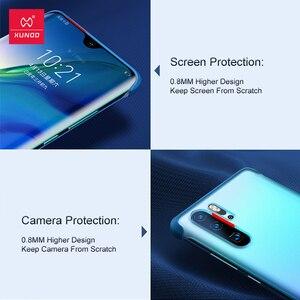 Image 3 - Xundd Telefon Fall Für Huawei P30 Pro Fall Airbag Stoßstange Schutzhülle Cases Matte Unframed Abdeckung Glas Für Huawei P30 Pro abdeckung