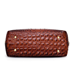 Image 5 - Gykaeo Luxury Handbags Women Bags Designer Crocodile Woman Leather Handbag Ladies Green Party Tote Shoulder Bags Sac A Main 2020