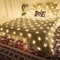 1 5 м * 1 5 м 3 м * 2 м 6 м * 4 м UK светодиодный сетчатый светильник s супер яркий сетчатый струнный светильник Рождественский светильник s водонепрон...