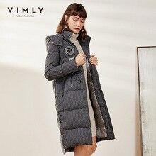 Down-Jacket Hooded Long-Sleeve Female Autumn Winter Women Straight Fashion Thicken Zipper